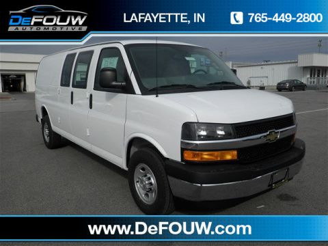 New Chevrolet Express 3500 Work Van