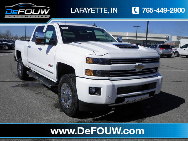 New Chevrolet Silverado 3500HD LTZ