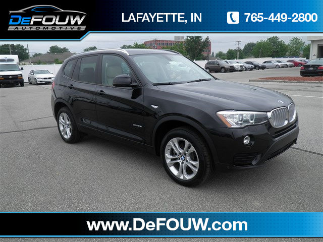 New BMW X3 xDrive35i
